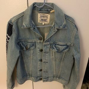 Levi's Jackets & Coats - Levi Strauss Jean jacket with French tulle